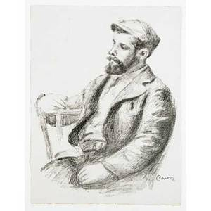 Pierreauguste renoir french 18411919 louis valtat from douze lithographies originales de pierreauguste renoir ca 1904 lithograph framed signed in the plate from an edition of 950 13 18