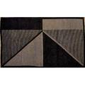 Danishgeometric wool tapestry 20th cunmarked49 12 x 75