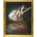 Stephan juharos hungarianamerican 19132010oil on canvas finale framedsigned14 x 11