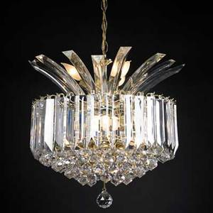 Modernacrylic and brass chandelier usa 1960sunmarkedfixture only 19 x 16 dia