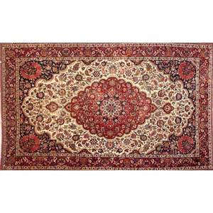 Oriental area rugs three with all over floral design on various grounds 20th c largest 63 x 98