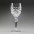 Waterford crystal twelve clarets in the powers court pattern 20th c one shown signed 7 14