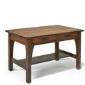 L  jg stickley twodrawer library table no 522 fayetteville ny 190712 handcraft label 29 x 48 x 30