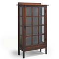 Gustav stickley singledoor china cabinet no 820 eastwood ny ca 1912 branded mark 63 x 36 x 15