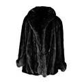 Parisien furs fox trimmed cape swing style with bakelite button closure 32 length provenance the estate of virginia graham international bids and bids issuing from the state of california may b