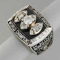 Super bowl xviii ring 1983 presented to kenny king los angeles raiders running back 14k wg with 23 brilliant cut diamonds approx 167 cts tw onyx table the table of ring embossed los angeles