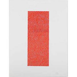 Erwin redl austrian b 1963 untitled 2004 mixed media on paper framed signed and dated 25 x 19 sheet provenance private collection new york