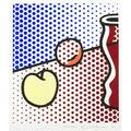 Roy lichtenstein american 19231997 still life with red jar 1994 lithograph in colors framed signed dated and numbered 190250 21 14 x 19 14 pubihr gemini gel los angeles literature