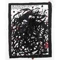Raymond pettibon american b 1957 untitled the interpretation of my tropes and figures isnt ever perfectly simple 1987 ink on paper framed signed and dated 11 14 x 8 78 sheet prov