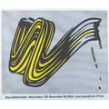 Roy lichtenstein american 19231997 two works of art brush stroke 1965 offset lithograph in colors 25 x 29 58 sheet printer chiron press new york brushstrokes 1967 offset lithograp
