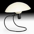 Greta von nessen nessen anywhere lamp usa 1950s enameled aluminum and metal bakelite unmarked 13 x 15 12 dia