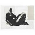 Henry moore british 18981986 reclining figure 1974 lithograph in colors framed signed and numbered xxx 17 38 x 20 34 sight literature cramer 345 provenance private collection ne