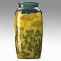 Kataro shirayamadani rookwood jewel porcelain vase with california poppies cincinnati oh 1922 flame mark xxii1065c and artist cipher 8 34 x 4 14