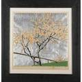 Gustave baumann american 18811971 color woodblock print april with aluminumleaf on laid paper santa fe nm ca 1930 framed and matted pencil signed titled and numbered 51120 image 13