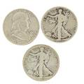 American half dollars eightysix walking liberty and franklin dollars include 1920d 1923s etc 19171963 43 face value