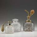Lalique three epines perfume bottles 20th c all marked tallest 5