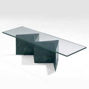 Paul evans welded and patinated steel coffee table with square plate glass top 17 x 60 x 20