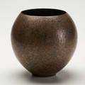Claudius linossier ovoid dinanderie vase france c 1930 patinated and hammered silver and copper engraved signature cl linossier 6 12 x 7