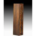 Arthur espenet carpenter jewelry box bolinas ca 1980 rosewood polished metal felt incised espenet 8012 19 34 x 4 x 5 14