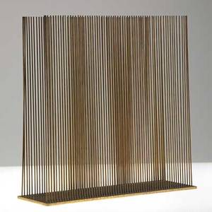 Harry bertoia 19151978 sonambient sculpture parallel pennsylvania 1970s patinated bronze unsigned 12 x 12 x 4 provenance private collection md wright auctions chicago dec 2011 lo