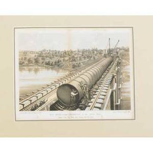 Framed cityscape prints five 19th c prints of new york city together with a church of the invalids print largest 9 12 x 27 78 sight