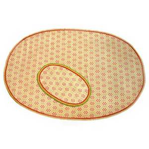 Three oval woven area rugs floral and diamond design on beige background 20th c largest 100 x 143