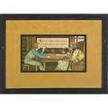 Chromolithograph illustrations nine nursery rhyme illustrations circa 1905 all similarly framed 9 12 x 15 12 plate