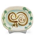 Pablo picasso 1881  1973 madoura glazed earthenware platter woodowl chouette france 1948 stamped madoura plein feu edition picasso i m2 10200 1 12 x 15 x 12 publication alain r