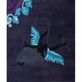 G coles christensen wool area rug archangel santa fe nm 2000s fabric label 131 x 11