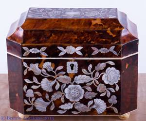19th C AngloIndian Tea Caddy