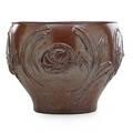 David cressey b 1916 architectural pottery co massive glazed stoneware jardiniere palm springs ca unmarked 15 12 x 20