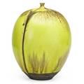 Rose and erni cabat large feelie chartreuse high glaze arizona signed 6 12 x 5