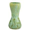 Tiffany studios fine and rare glazed favrile pottery vase mossy green glaze new york ca 1910 incised lct etched p1157 lc tiffany favrile pottery 11 x 6 literature eidelberg tiffany favr