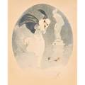 Louis icart french 18881950 drypoint etching and aquatint snowstorm seagulls framed signed no 198 the rosenbach company gallery label on verso 21 x 17