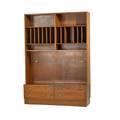 Danish teak bookcase 1960s branded made in denmark hu danish control overall 77 x 54 12 x 17