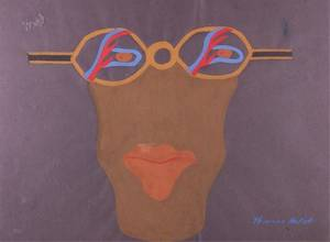 Thurman Hackett Modernist Face Painting