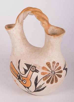 Native American Pottery Wedding Vase