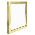 Paul evans 1931  1987 directional cityscape mirror usa 1970s brass mirrored glass unmarked 54 x 56 x 4