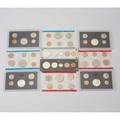 Us proof or mint sets fiftythree including 1953 proof 1954 proof 10 1965 mint etc