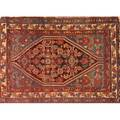 Oriental rugs two kurdish wool area rugs 20th c larger 108 x 32