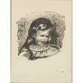 Pierre auguste renoir french 18411919 lithograph claude renoir signed in print possibly later printing together with edouard vuillard french 18681940 offset lithograph in colors of a w