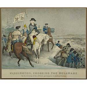 Hand colored engravings 19th c eight framed prints including three currier and ives and two currier mostly revolutionary war scenes largest 12 58 x 16 12 sight