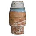 Robert turner 1913  2005 early massive barrelshaped glazed stoneware vase alfred ny 1967 signed and dated 21 14 x 11 12