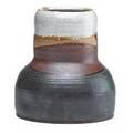Robert turner 1913  2005 glazed stoneware vessel alfred ny unmarked 8 12 x 7 12