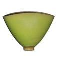 Otto natzler 1908  2007 gertrud natzler 1908  1971 pillow vase apple green glaze los angeles ca signed natzler 5 x 7