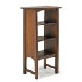 Harvey ellis gustav stickley magazine stand eastwood ny ca 1905 red decal and partial paper label 41 x 21 12 x 12 12