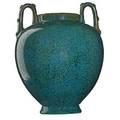 Fulper urn green crystalline glaze flemington nj 191016 vertical rectangular ink stamp 12 x 8 12