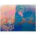 Andy warhol american 19281987 kiku 1983 screenprint in colors framed signed and numbered 180300 19 58 x 26 sheet printer rupert jasen smith publisher gendai hanga center tokyo j