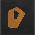 Jean arp french 18861966 amga dans lomega 1960 wood relief on suede over board box accompanied by the spiritual mission of art by michael seuphor signed dated titled and numbered on ar