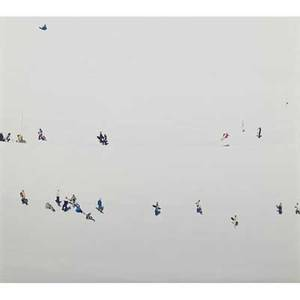 Walter niedermayr italian b 1952 untitled skiers 1990s cprint diptych each signed and numbered 3135 12 x 15 sheet each